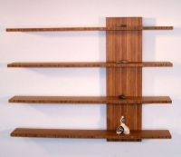 How to build homemade wooden floating shelves?   Wooden ...
