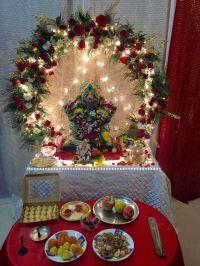 Artificial Flower Decoration Ideas For Ganpati ...