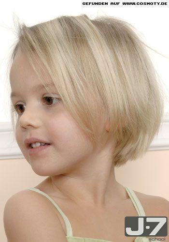 Kinnlanger Bob Mit Hellen Strähnchen Kinder Frisuren Bilder