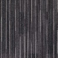 A swatch of Milliken's Light Trails collection in Titanium ...