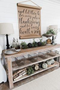 DIY Farmhouse Style Buffet | Dining room buffet, Entryway ...