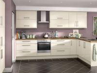 Orlando - Cream Hi Gloss kitchen | Wickes.co.uk | Kitchen ...