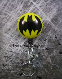 BATMAN - Superhero,Retractable Badge Reel,Designer Badge ...