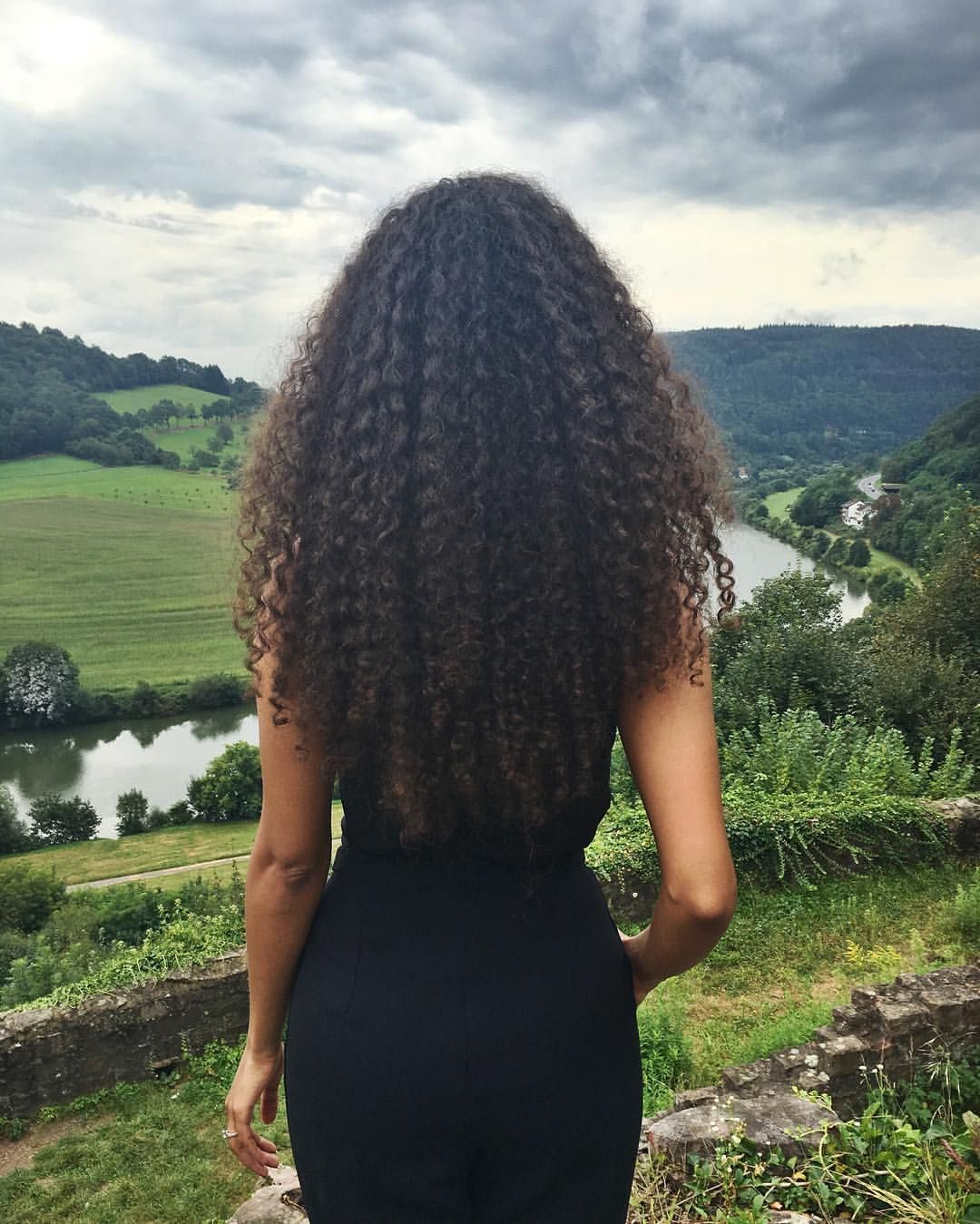 See this Instagram photo by jimandray  Curly Rapunzel long natural hair Long curly hair