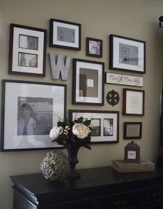Wall gallery ideas also design that  love pinterest galleries rh