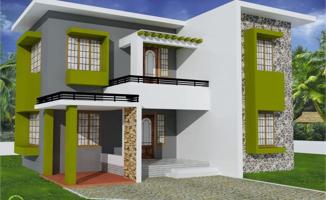 Beautiful Models Of Houses Yahoo Image Search Results Kerala House Design Flat Roof House Cute766
