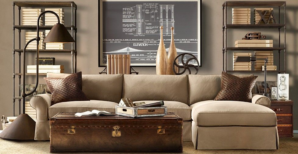 Steampunk Interior Design Where Old Meets New Industrial