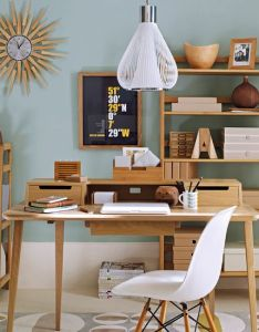 How to create retro home office also decorating designs rh uk pinterest