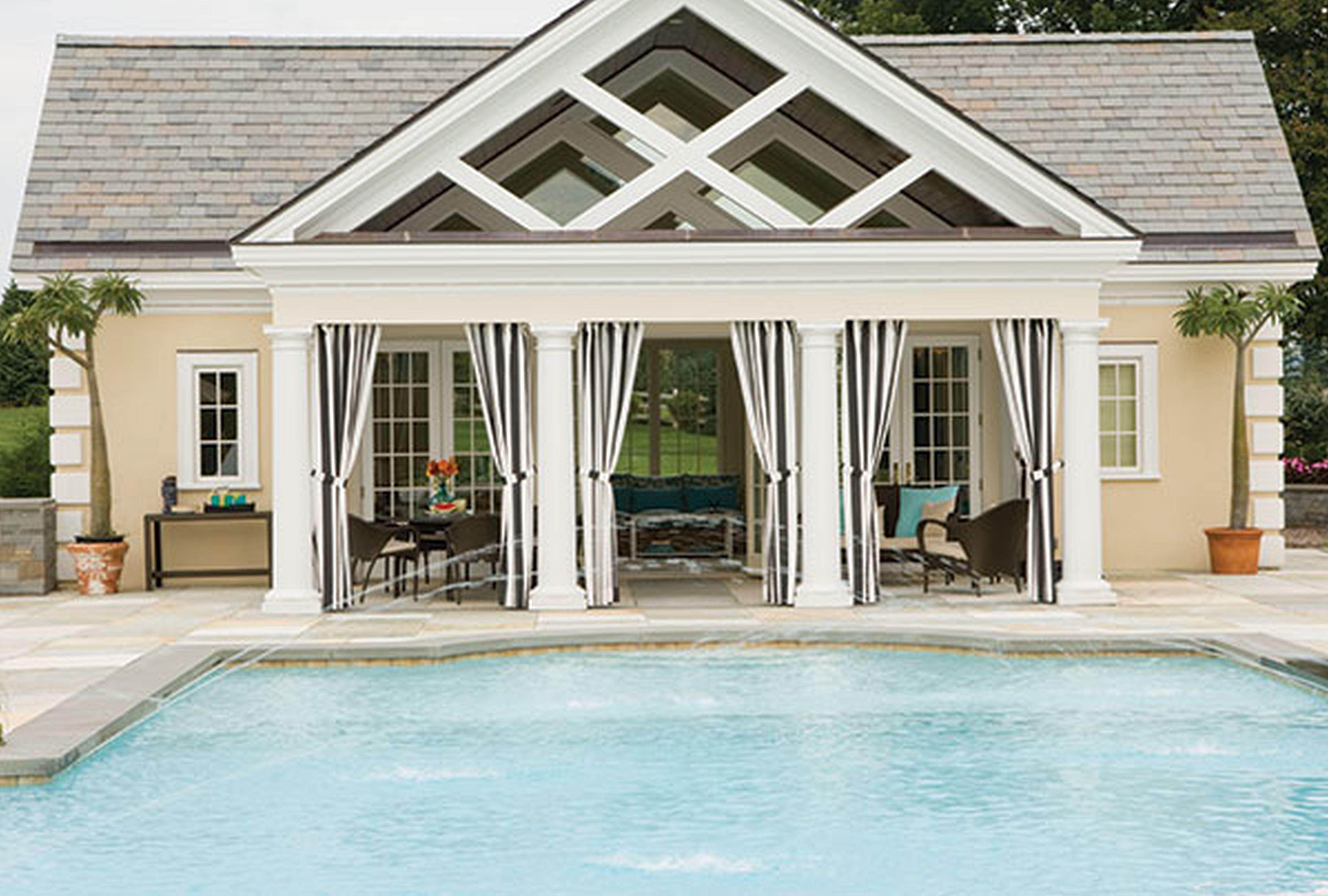 Small Pool House Design Ideas POOL HOUSE Pinterest Pool