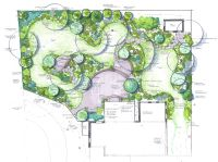 inspiring landscape patio designs living gardens va md and ...