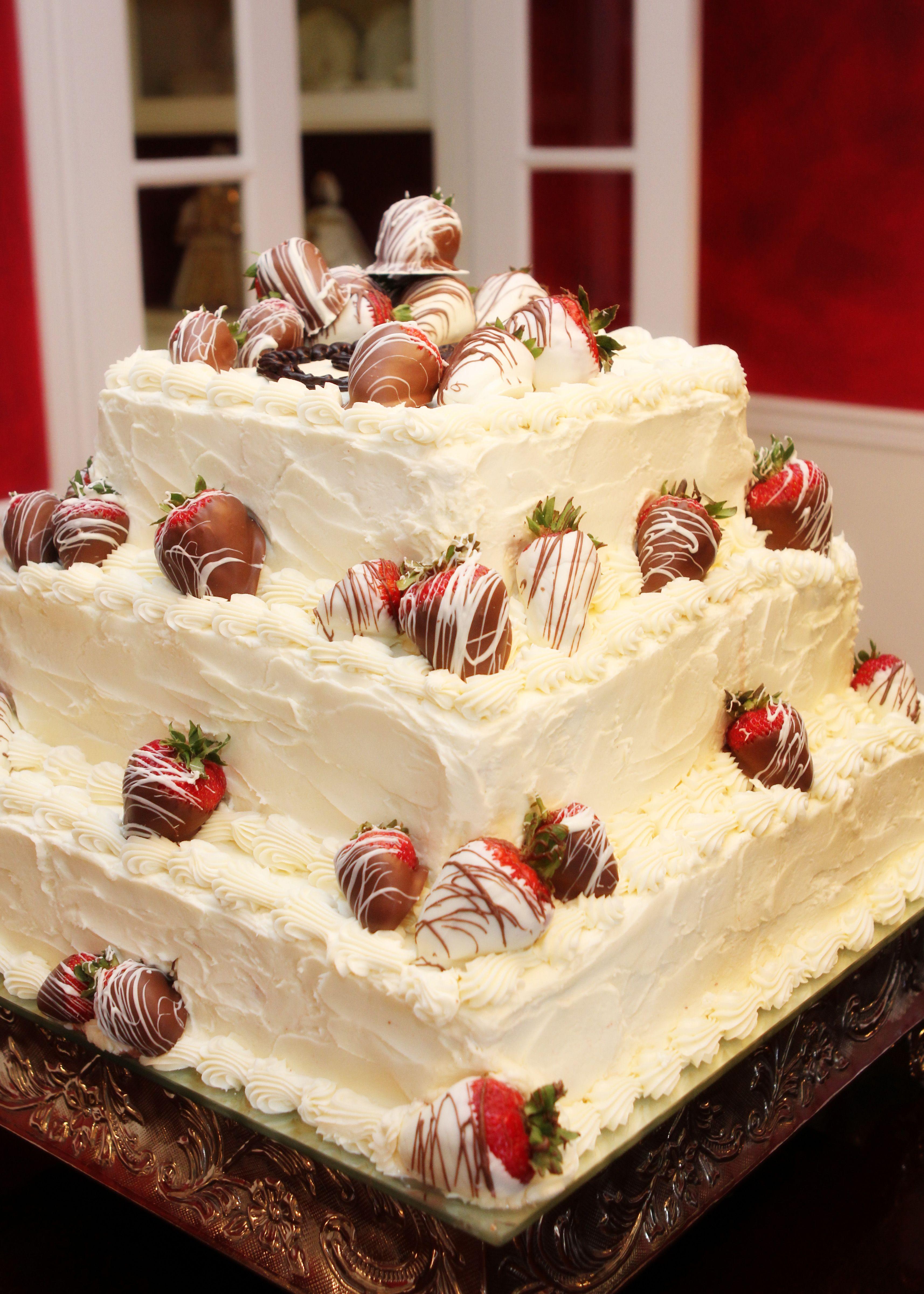 Red Velvet Grooms Cake