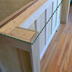 Two Tier Kitchen Island Aid Replacement Parts Converting A Into One Level
