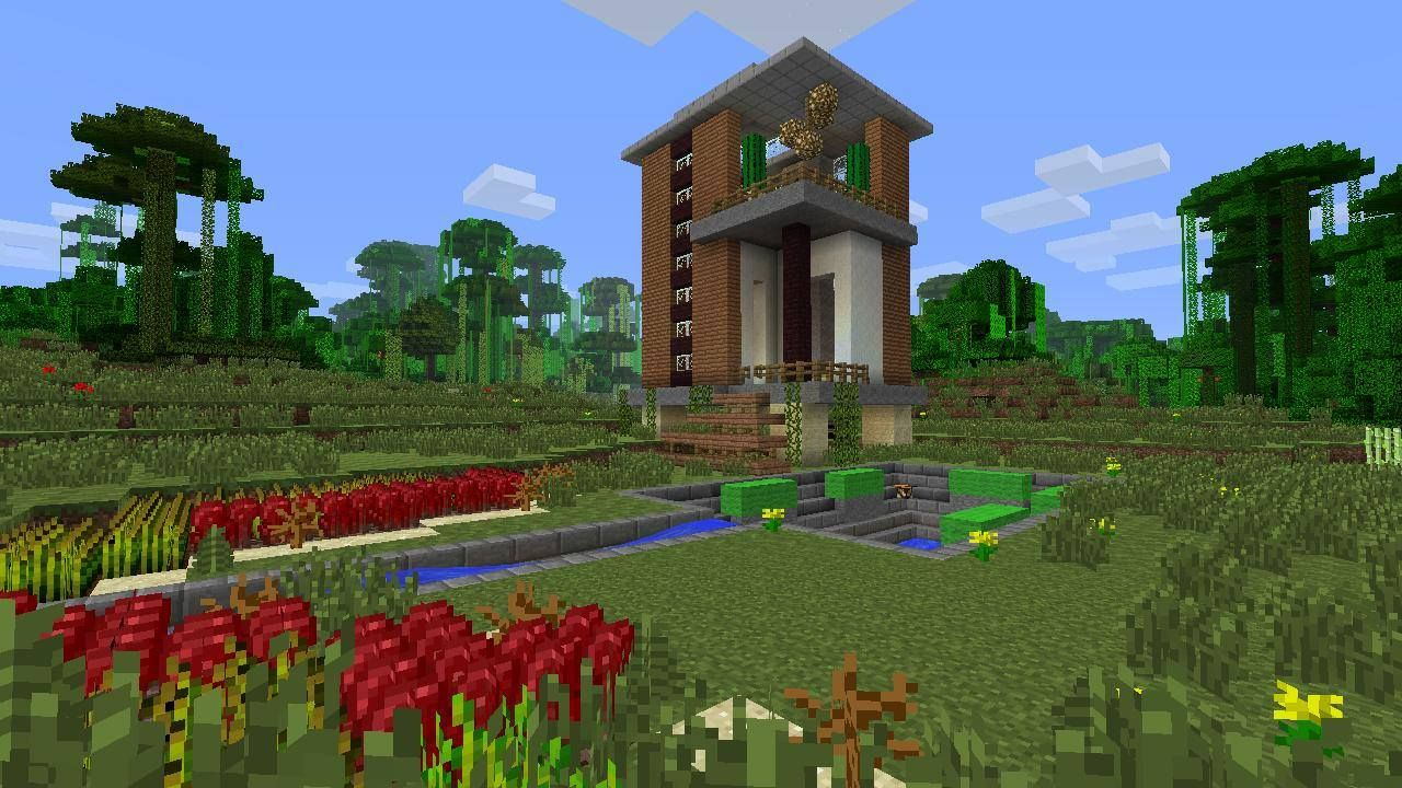 Minecraft house exterior ideas for Minecraft exterior design ideas