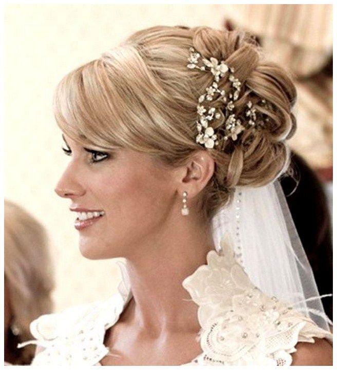 Wedding Hairstyles Long Hair Half Up Veil Half Up Half Down