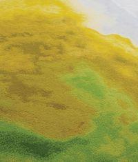 Tai Ping Carpets, Chroma Collection yellow green fluxus I
