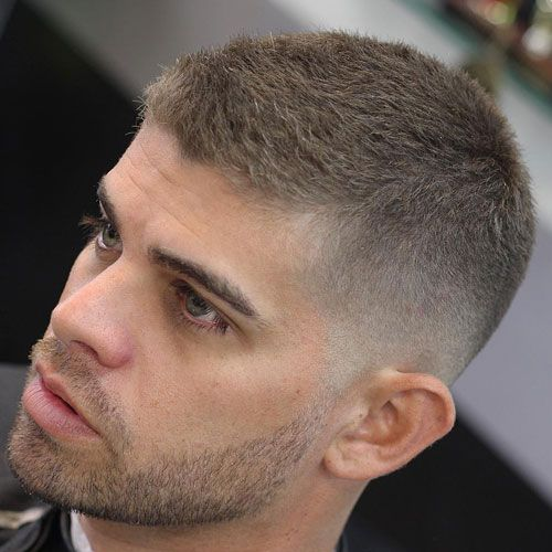 40 Stylish Haircuts For Men  Low fade Crew cuts and Shorts