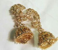 The beautiful pair of earrings by kalyan jewellers that ...