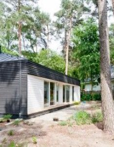 House in the woods also minimalist design and summer cabins rh pinterest