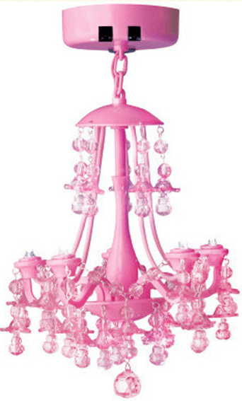 Pink Locker Chandelier Magnetic Lighting Motion Sensor For Easy On And Off Use Measures In Diameter Uses 3 Aaa Batteries Not Included