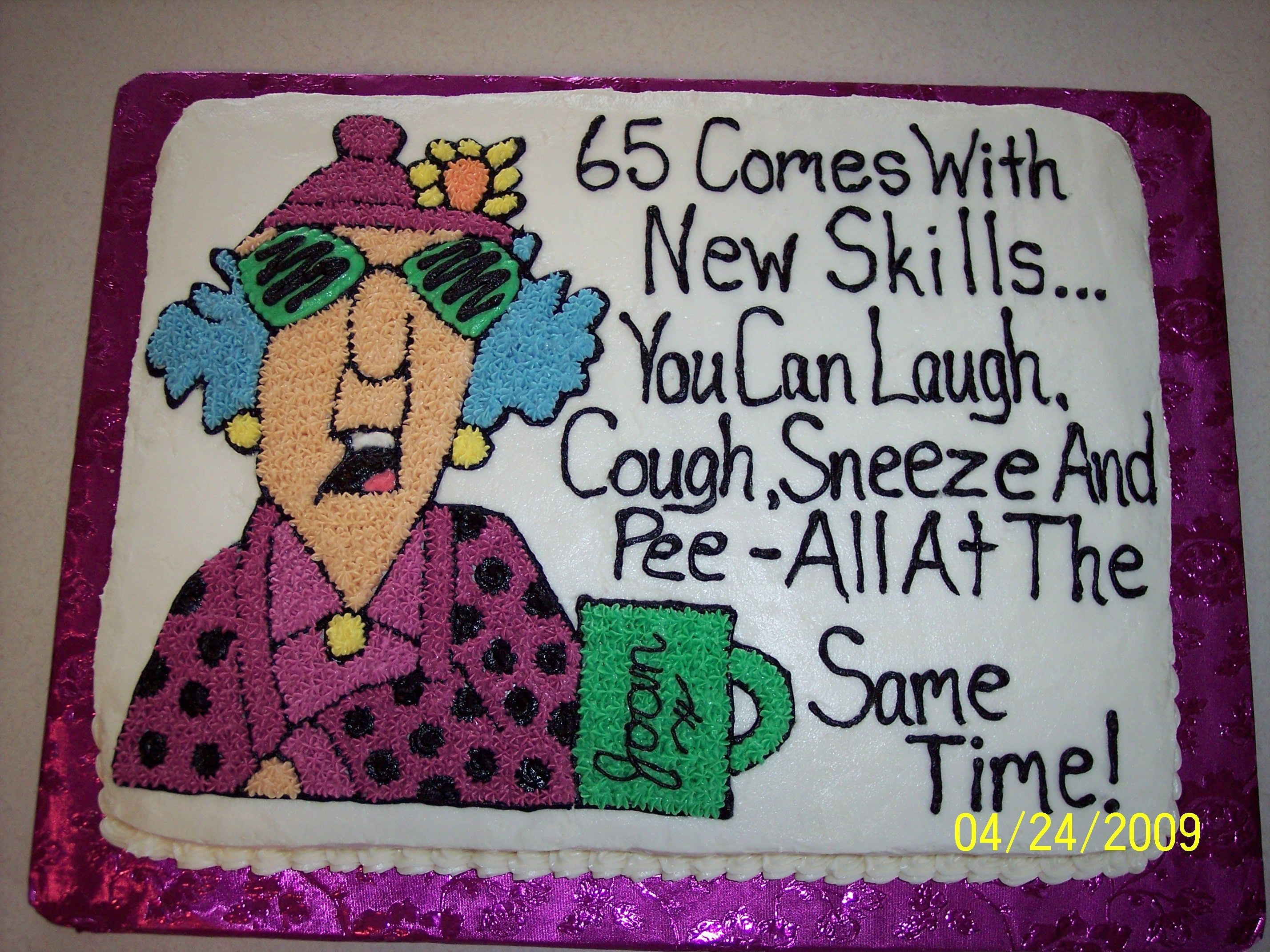 Funny Jokes 65th Birthday