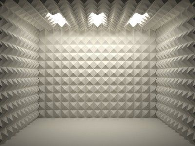 completely soundproof room
