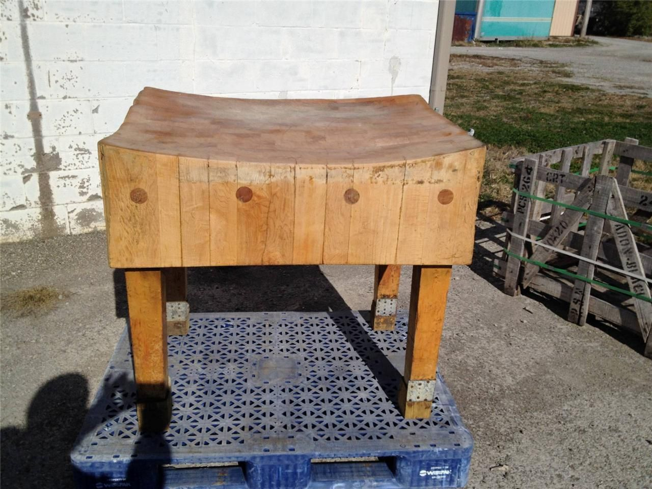 john boos kitchen islands renovating a vintage butcher block table w tons of character