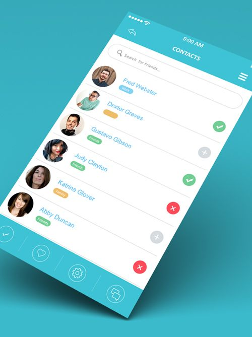 35 Modern Mobile App UI Designs with Amazing User