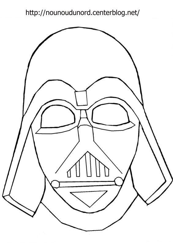 masque dark vador d'autres modèles sur mon blog http
