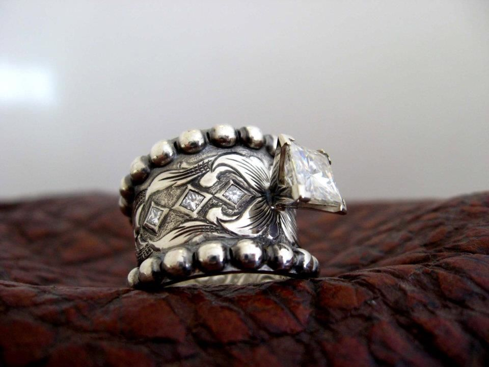 Travis Stringer Western Wedding Rings Country Chic