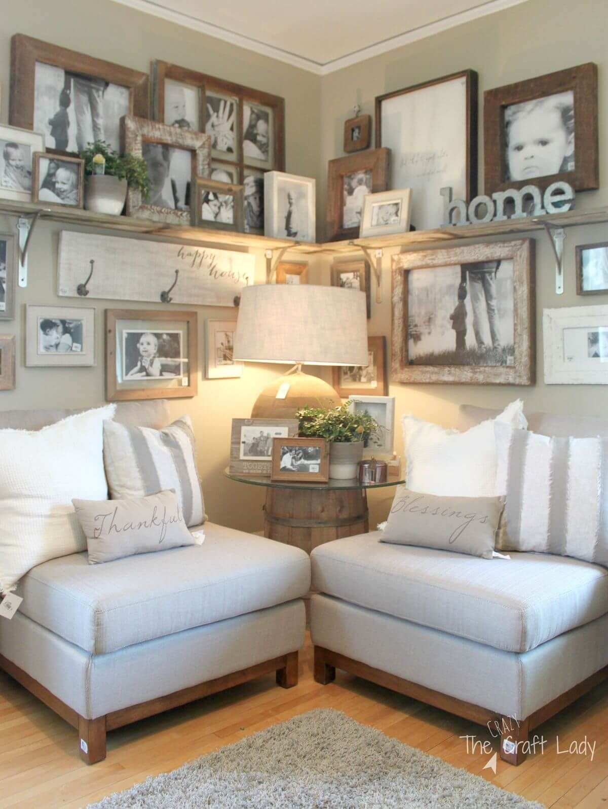creative ideas to decorate above the sofa also family photo displays rh pinterest