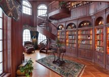 Victorian Home Libraries