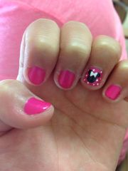cute easy minnie mouse nails