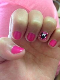 Cute easy Minnie Mouse nails | Create | Pinterest | Minnie ...