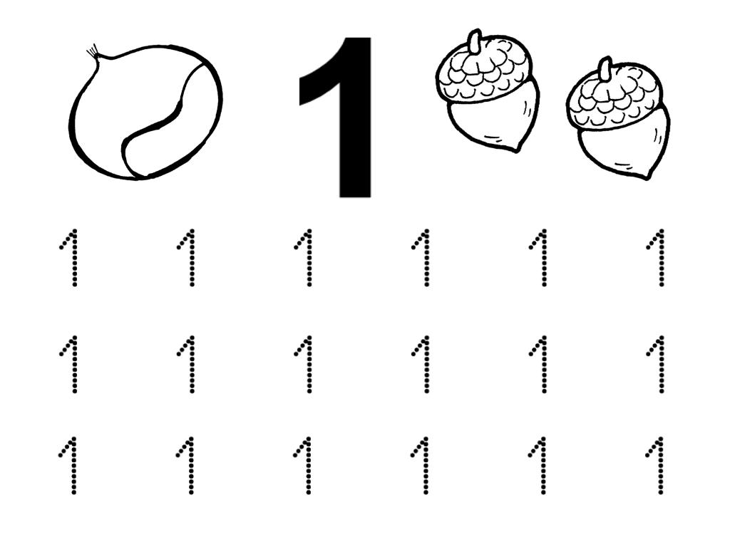 Recursos Educacion Infantil Numero 1