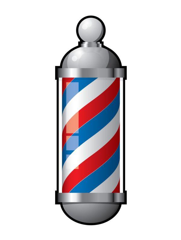 Barber Shop Pole Logo