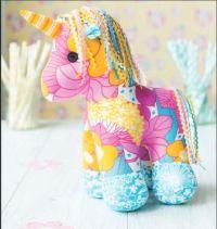 Yumi the Unicorn Toy Sewing Pattern Download  | Pinteres