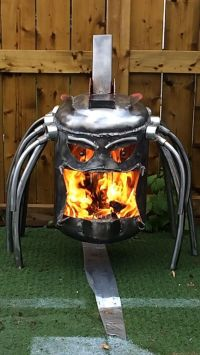 Predator fire pit fire box by CalgaryCreativeWork on Etsy ...