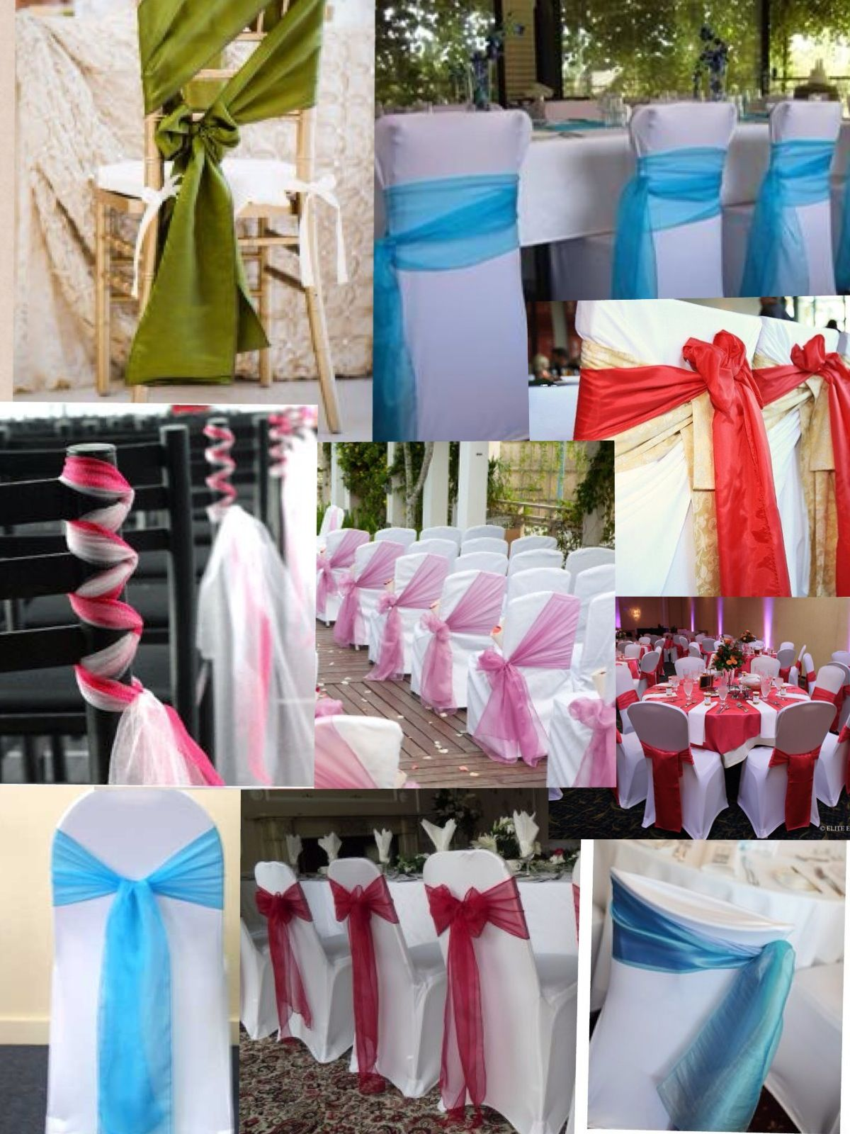 How To Make Chair Sashes Different Ways To Tie Chair Sashes Wedding Pinterest