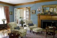 Restored colonial revival living room | room ideas ...