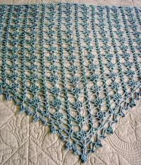 Stylish Easy Crochet: Crochet Lace Shawl For Summer