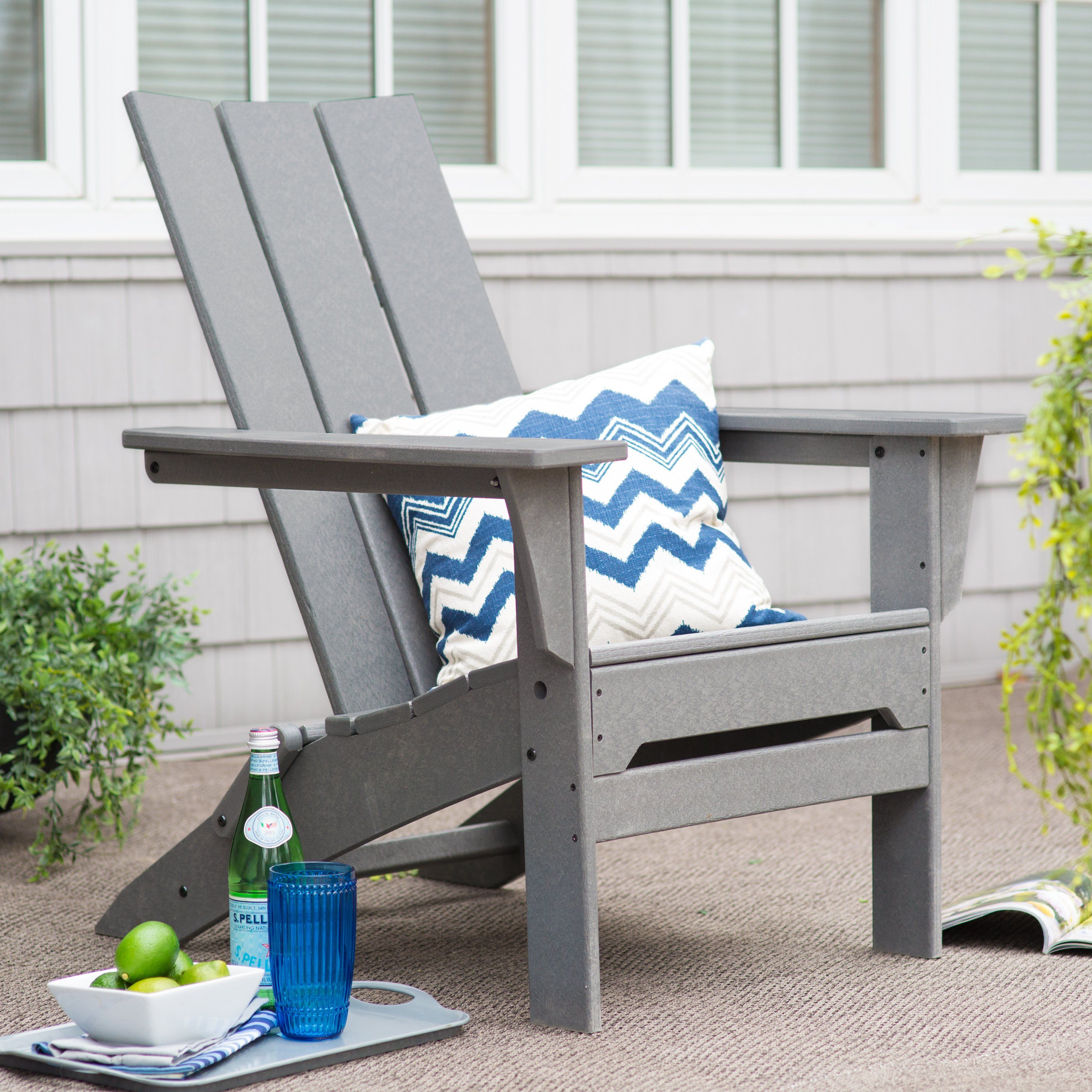 modern folding chair lawn chairs lowes have to it exclusive polywood