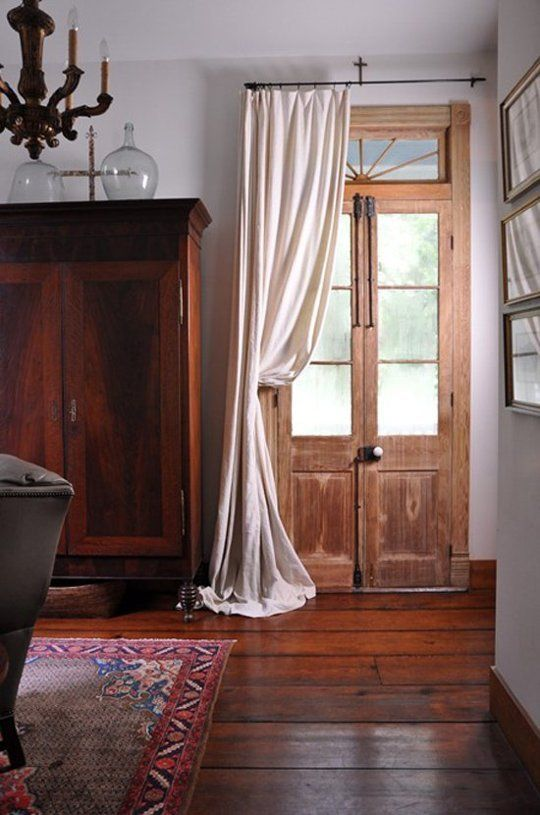 A Cozy Yet Chic Style Upgrade Modern Portière Curtains French