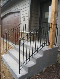 Outdoor Metal Railings For Steps Pictures to Pin on ...