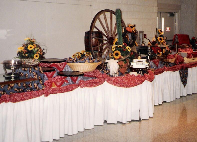 Western Party Table Decoration Ideas