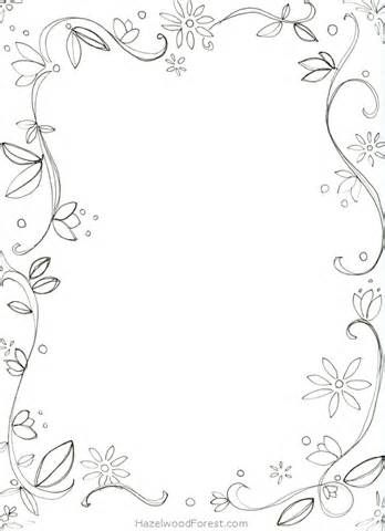 comment 15 december 2014 fancy border coloring pages