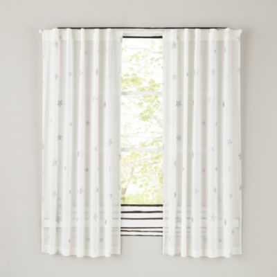 Silver Star Curtains Kid Gray And Gray Nurseries