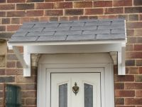 Minster Mono Pitch Door Canopy 1800mm wide | Front door ...