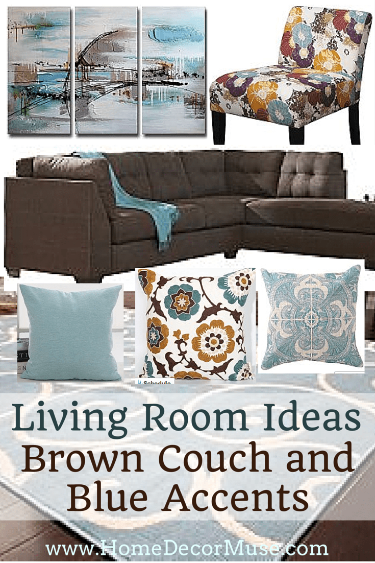 Apartment Decorating Brown Couch