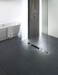 Viega Visign shower drain from glas | Bathroom Design ...