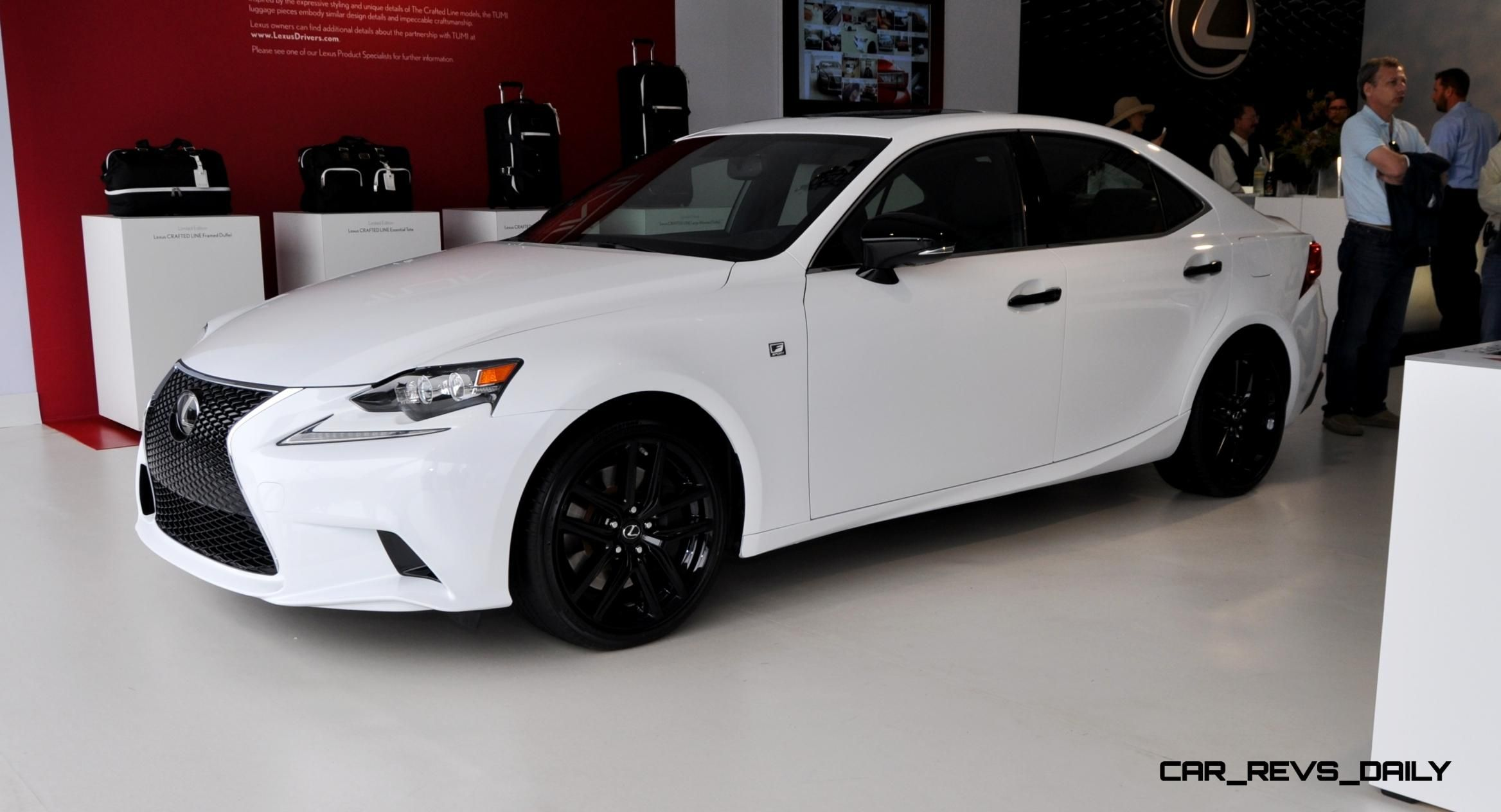 2015 Lexus IS250 F Sport CRAFTED LINE in 32 All New High Res